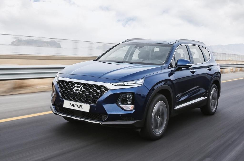 2020 Hyundai Santa Fe Sport Spy Photos