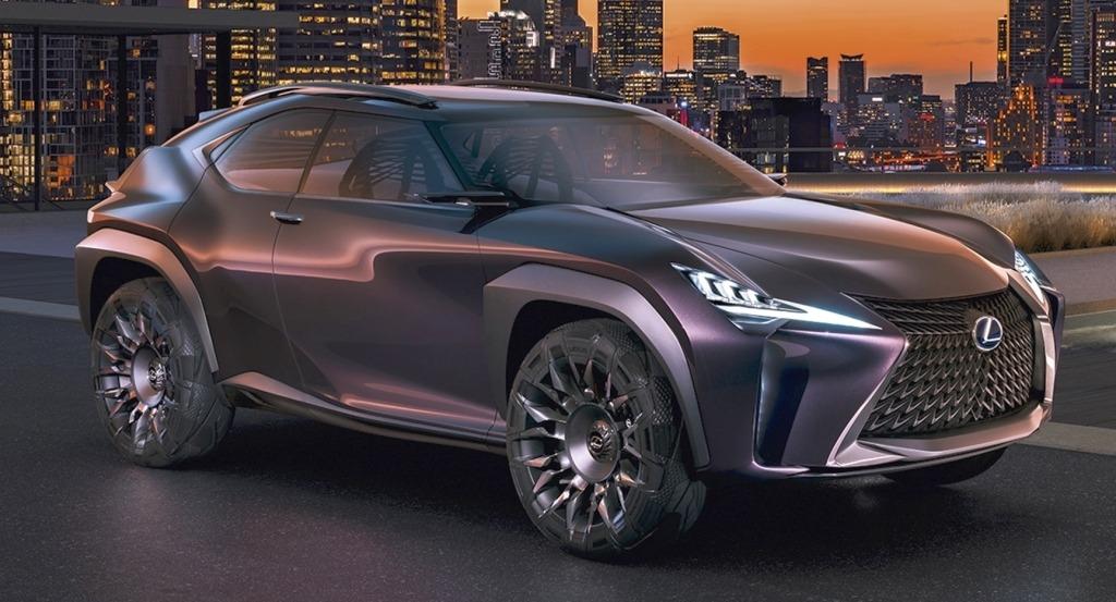2020 Lexus UX Spy Shots
