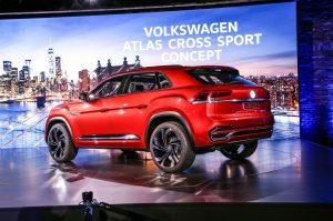 2020 VW Atlas Spy Shots