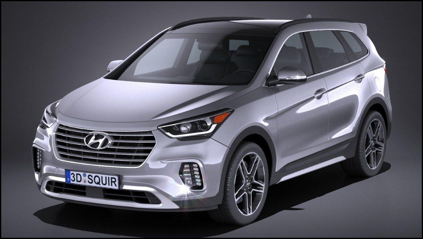 2020 Hyundai Santa Fe Spy Shots