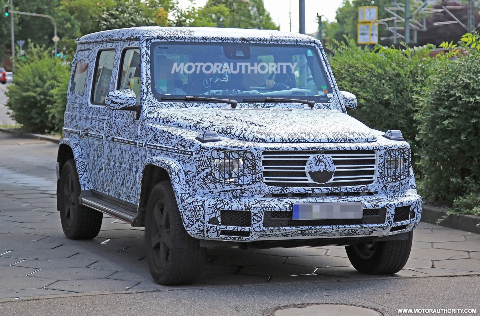 2020 MercedesBenz GWagen Engine