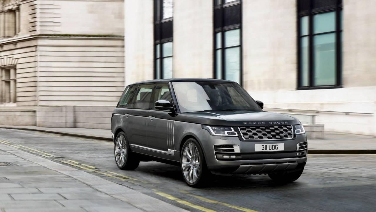 2020 Range Rover Vogue Engine