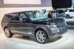 2020 Range Rover Vogue Spy Photos