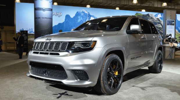 2021 Jeep Grand Cherokee Trackhawk Interiors, price and Release Date