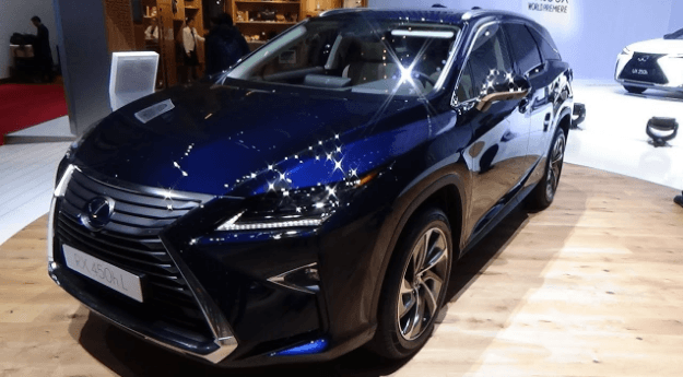 2021 Lexus RX 350L Changse, Specs and Redesign