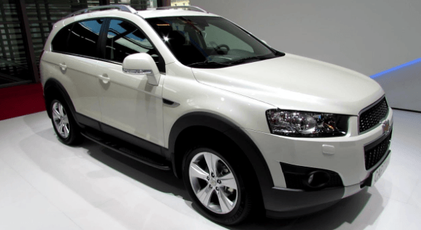 2020 Chevrolet Captiva Price, Interiors and Redesign