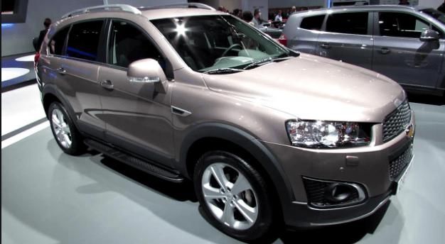 2020 Chevrolet Captiva Price, Interiors And Redesign