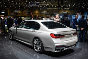 2021 BMW 7 Series Engine