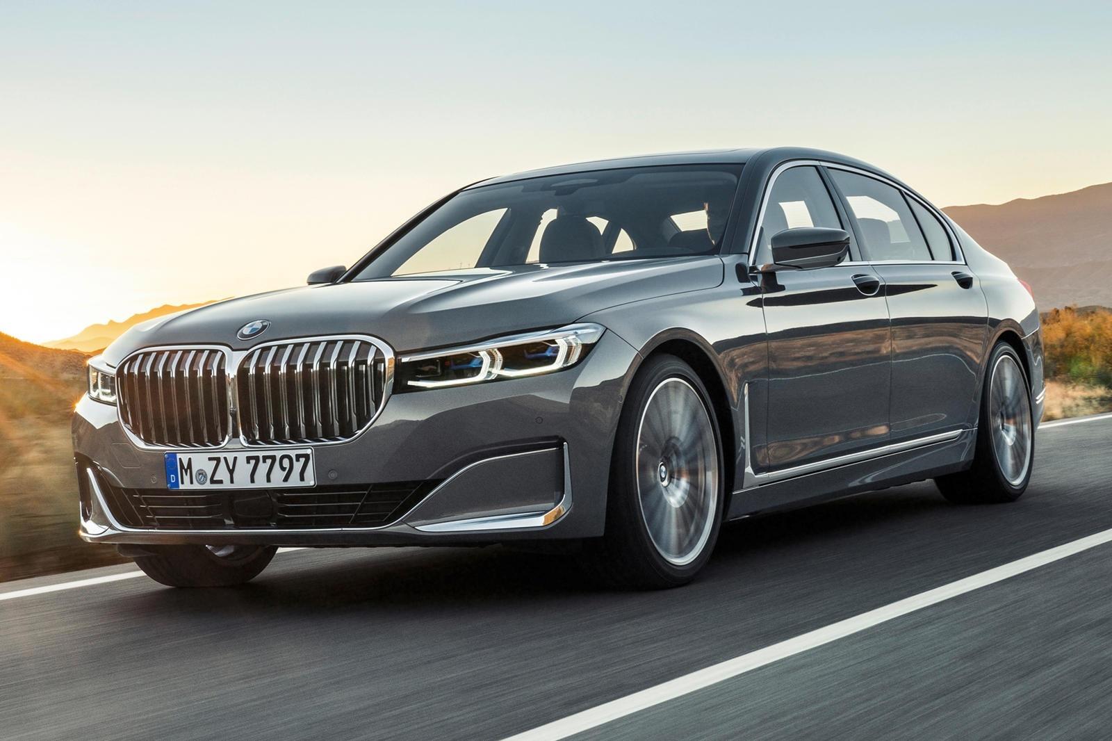 2021 BMW 7 Series Spy Shots