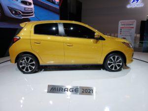 2021 Mitsubishi Mirage Drivetrain