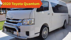 2020 Toyota Quantum Redesign