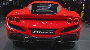 2021 Ferrari F8 Tributo Exterior