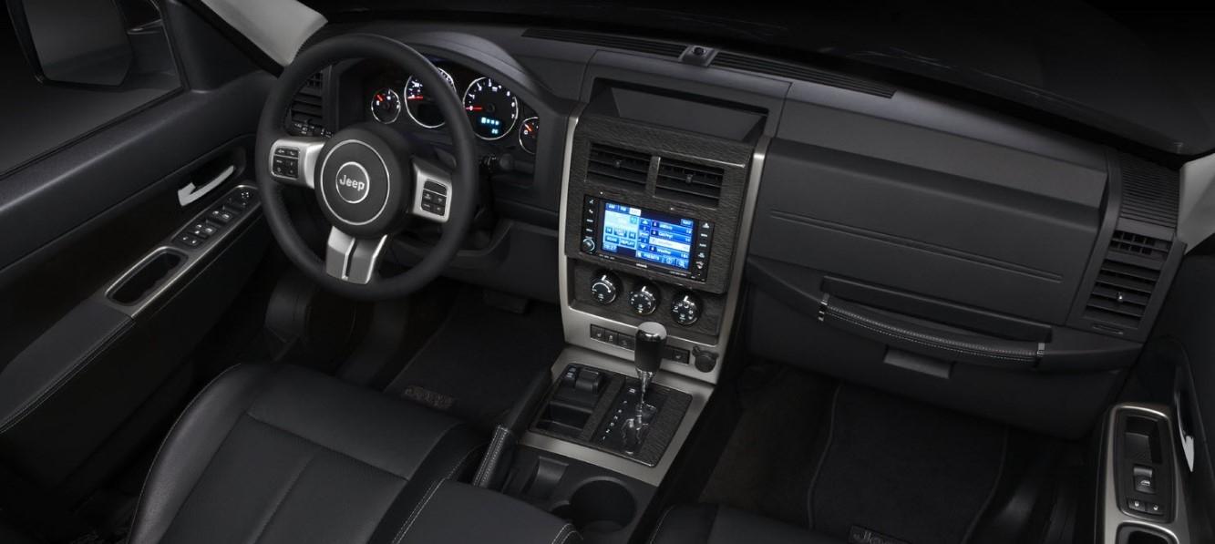 2021 Jeep Liberty Drivetrain