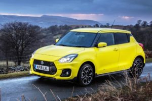 2021 Suzuki Swift Sport Spy Photos