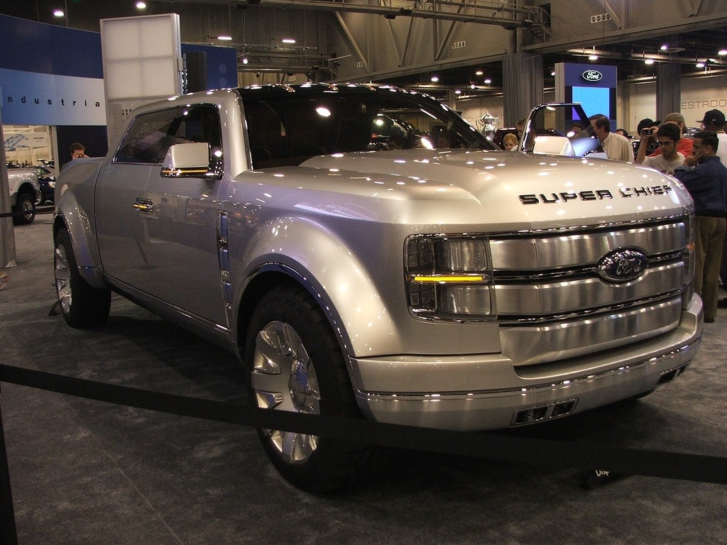 2020 Ford F250 Super Chief Concept