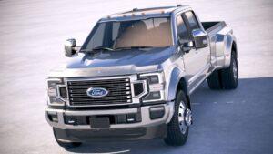2021 Ford Super Duty Powertrain