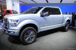 2020 Ford Atlas Spy Shots