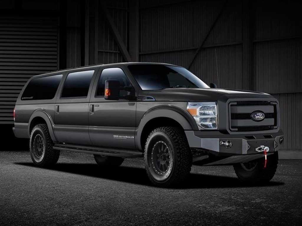 2020 Ford Excursion Spy Photos