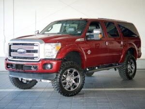 2020 Ford Excursion Spy Shots