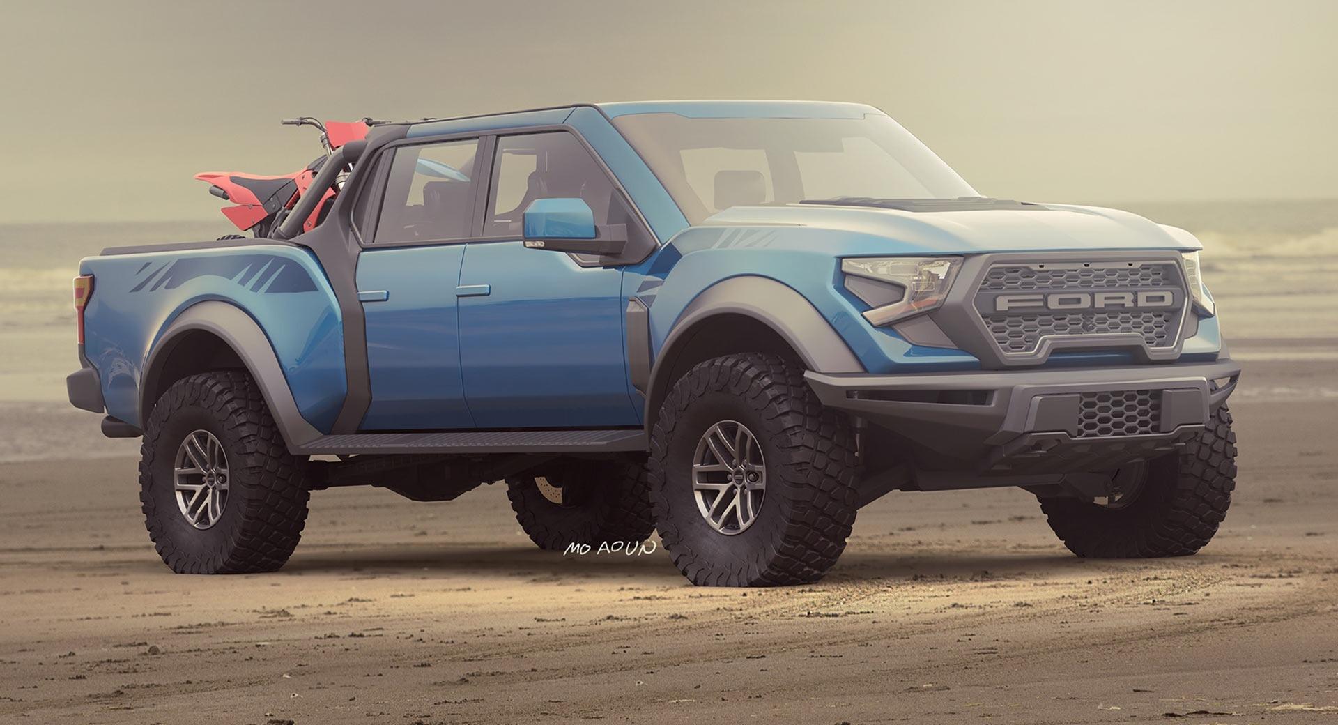 2022 Ford F150 Raptor V8 Powertrain
