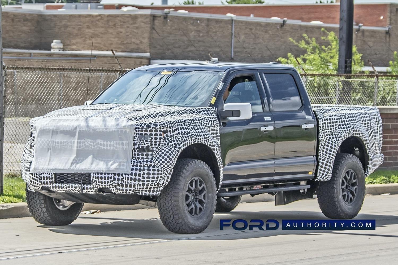 2022 Ford Raptor Spy Shots
