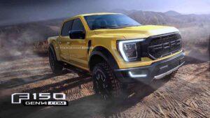 Ford f150 Raptor 2021 Spy Photos