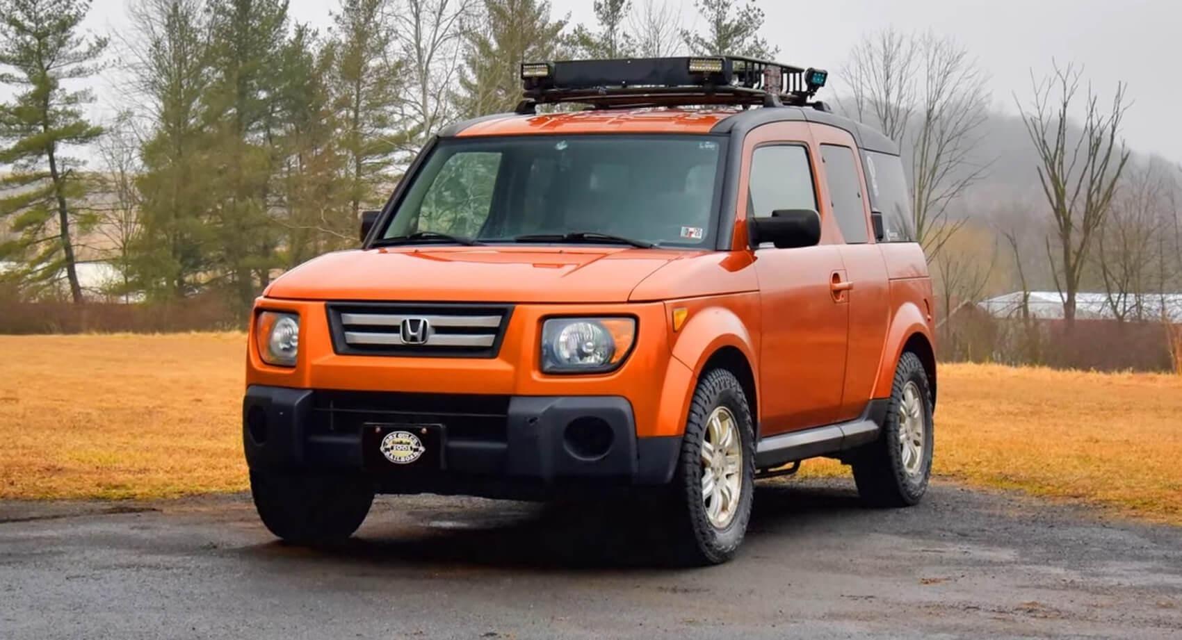 Honda Element 2020 Release Date