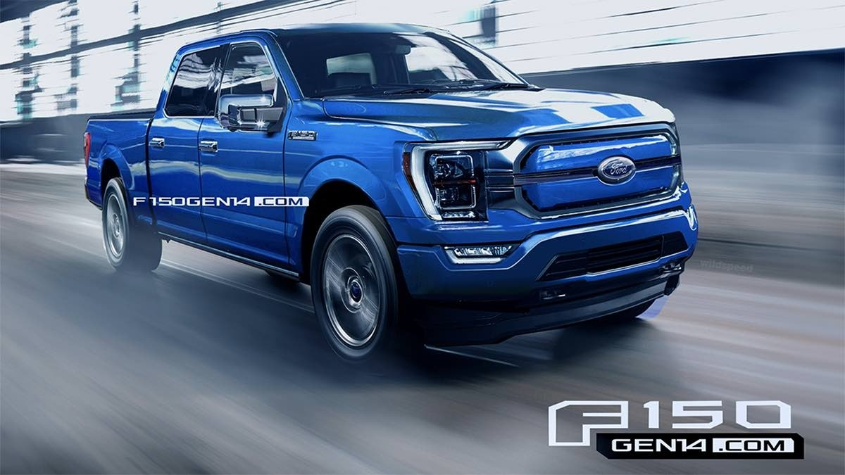 2022 Ford F150 Concept