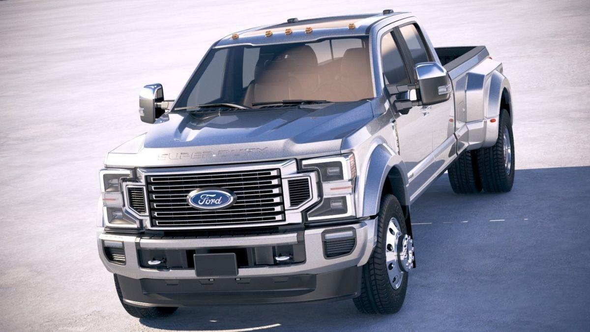 2022 Ford F450 Powertrain