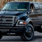 2022 Ford F650 Super Duty Spy Shots