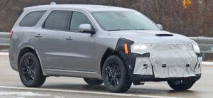 2021 Dodge Nitro Spy Shots