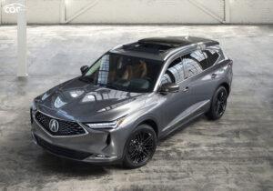 2022 Acura MDX Type S Spy Photos