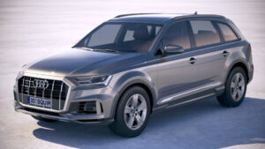 2022 Audi Q7 Images