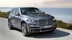 2022 BMW X5 Spy Photos