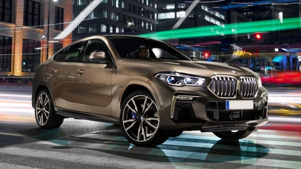 2022 BMW X6 Images