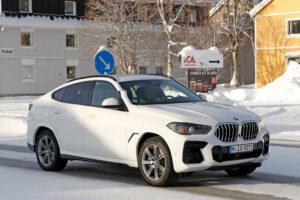 2022 BMW X6 Spy Photos