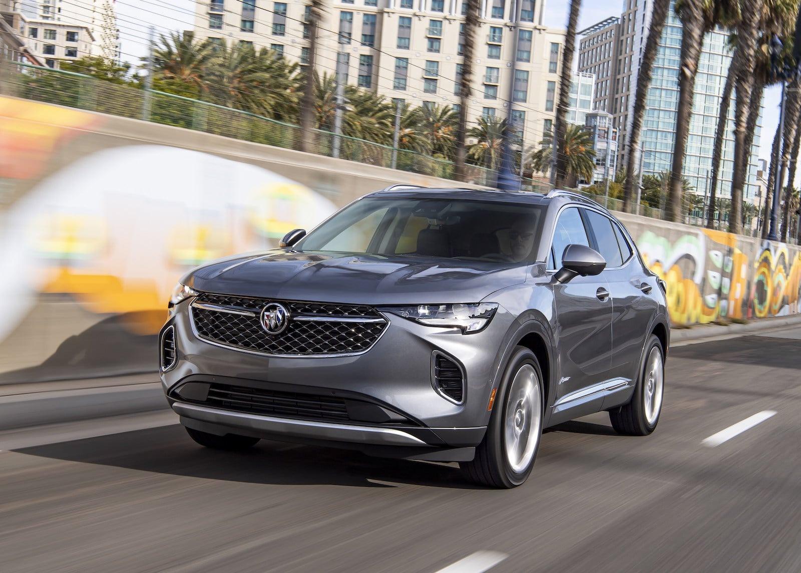 2022 Buick Envision Interior