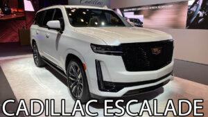 2022 Cadillac Escalade Drivetrain