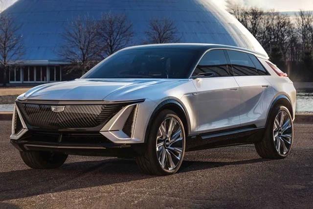 2022 Cadillac Lyriq Pictures