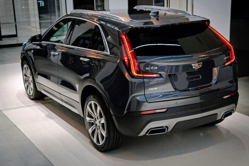 2022 Cadillac XT4 Interior