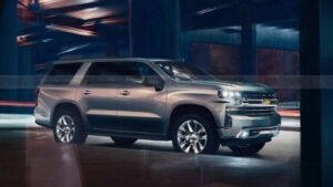 2022 Chevy Tahoe Concept
