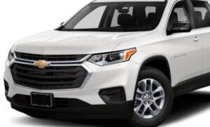 2022 Chevy Traverse Interior