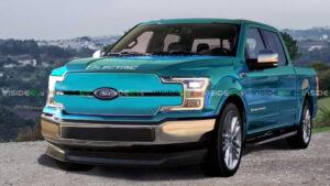 2022 Ford F150 Spy Photos