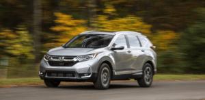2022 Honda CRV Interior
