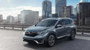 2022 Honda CRV Spy Shots