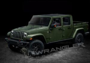 2022 Jeep Comanche Exterior