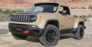 2022 Jeep Comanche Powertrain