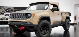 2022 Jeep Comanche Release date