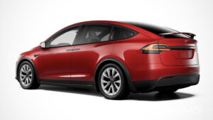2022 Tesla Model X Spy Photos
