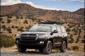 2022 Toyota Land Cruiser Interior